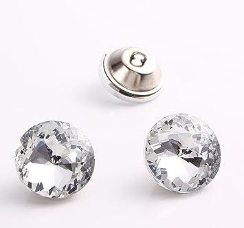Garment Spitz Top Strass Knopf Möbel Diy Diamant Kristall Tasten