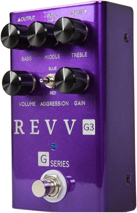 Revv Amplification G3 Overdrive /& Distortion Pedal
