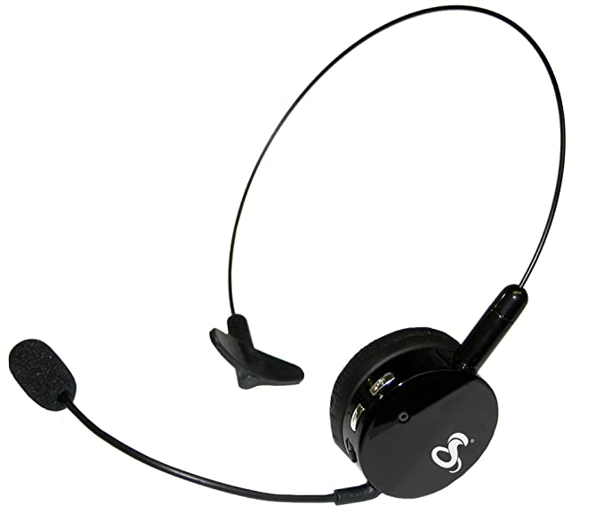b5d15d3a3bc Amazon.com: Cobra Ultra Light Over-The-Head Bluetooth Headset with ...