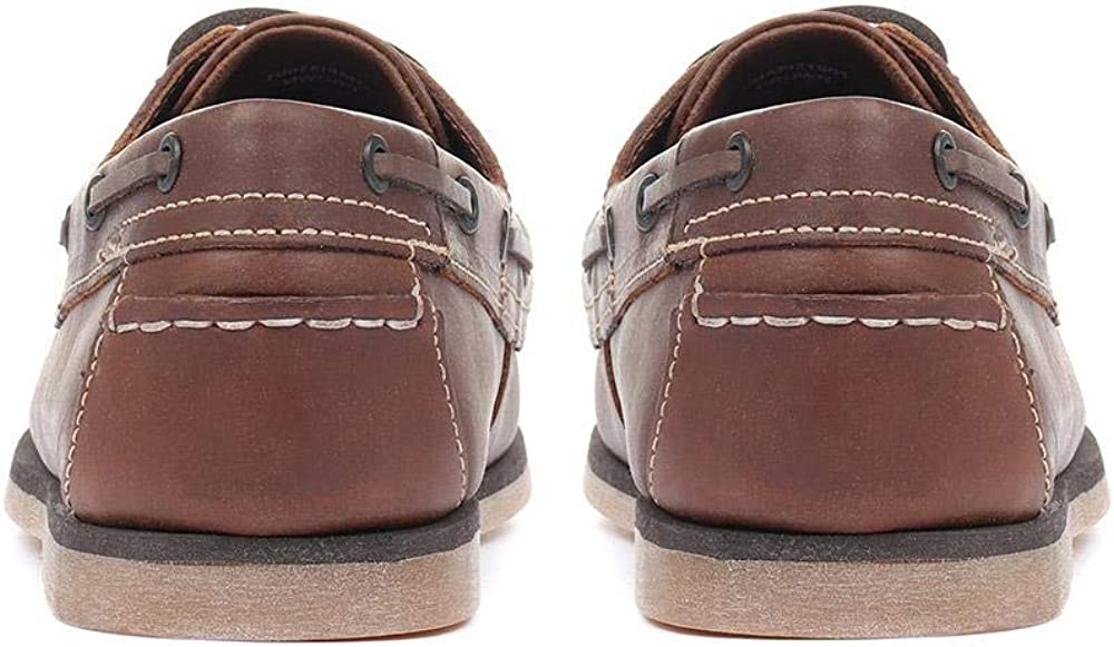 Pavers Leather Boat Shoes 317 608