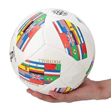 Pokerty Fútbol Decorativo de Banderas Nacionales, 22cm/9in Juego ...
