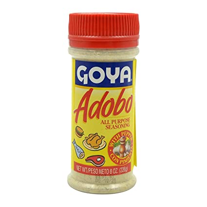 Amazon Com Goya Adobo Seasoning With Pepper 8oz Goya Products Grocery Gourmet Food