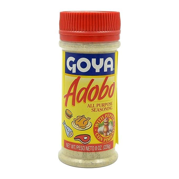 Amazon Com Goya Adobo Seasoning With Pepper 8oz Goya Products Grocery Gourmet Food