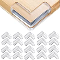 Safety Corner Protectors Guards, 20pcs Baby Proofing Safety Corner Clear Furniture Table Corner Protection, Kids Soft…