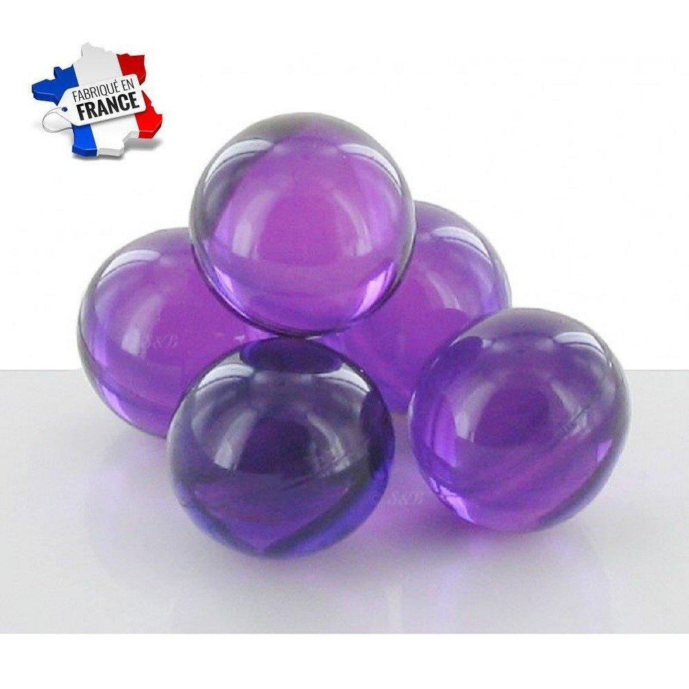 Sachet de 20 perles de bain parfum lavande karism