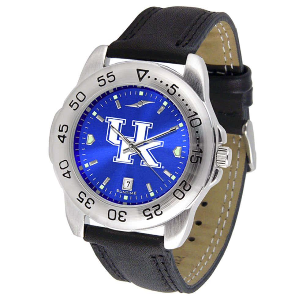 New Linkswalker Mens Kentucky Wildcats Sport Anochrome Watch