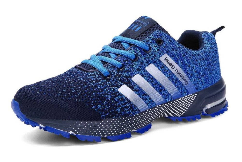 JiYe Men's Women's Athletic Shoes Tennis Jogging Walking Fashion Sneaker,Running Shoes B06W5G997V 11US-Women/10US-Men/11.56in|New Blue