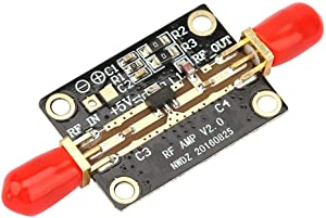 1pc RF Amplifier LNA, Akozon Low Noise Amplifier LNA 0.05-4GHz NF=0.6dB RF FM HF VHF/UHF High Gain Low Noise SPDT RF Switch Amplifier Module