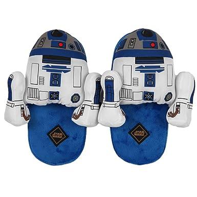 Slippers - Star Wars - R2-D2 Unisex Blue 3D Size Medium M hs12nvstw-