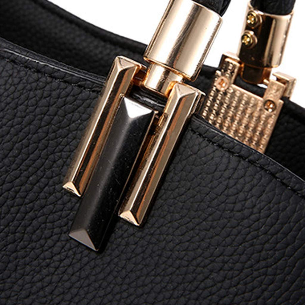 Holzkary Womens Ladies Fashion Leisure Panelled Color Large Capacity Handbag