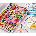 アクリルビーズ - 子供ビーズアクセサリーおもちゃ、男の子、女の子、子供、誕生日プレゼント ( Color : B )