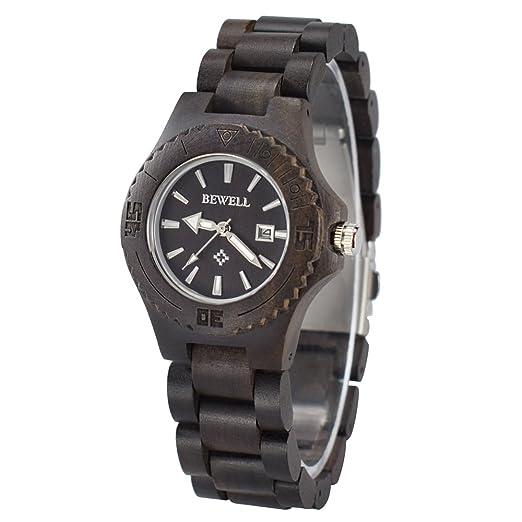 bc0c666182e0 Reloj de mujer de pulsera de madera natural
