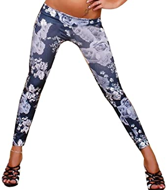 b0b1a0e0bea81 EKU Women Casual Skinny Seamless Vogue Funky Tights Leggings OS Black:  Amazon.co.uk: Clothing