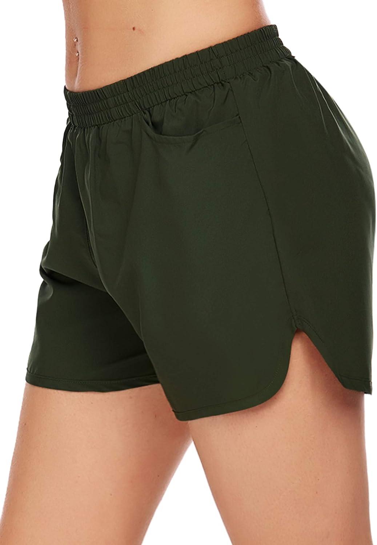 COOrun Womens Shorts Active Athletic