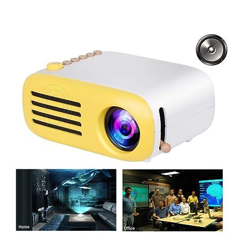 WAOBE LED Mini proyector de Bolsillo,Regalos de niños casa ...