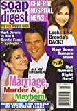 Josh Duhamel, Rebecca Budig, All My Children, Vanessa Marcil - July 16, 2002 Soap Opera Digest Magazine