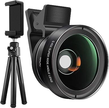 Kit de lentes de cristal para cámara de teléfono celular con ...