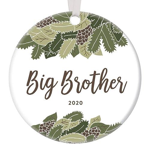 Woodlands Christmas 2020 Amazon.com: Big Brother Christmas Ornament Gift Idea 2020 Dated