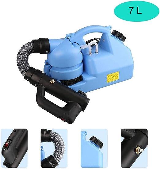 ZHAO YING 7-L ULV nebulizador, pulverizador eléctrico Inteligente portátil Desinfección Máquina for el Interior del jardín al Aire Libre/Inicio/Hotel/Escuela (Color : Blue): Amazon.es: Hogar