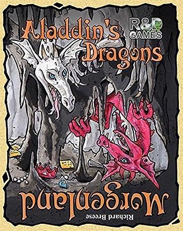 Amazon.com: R & D Games – Aladdin de dragones: el juego de ...
