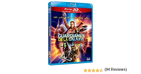 Guardianes De La Galaxia 2 (3D+2D) [Blu-ray]: Amazon.es: Chris ...