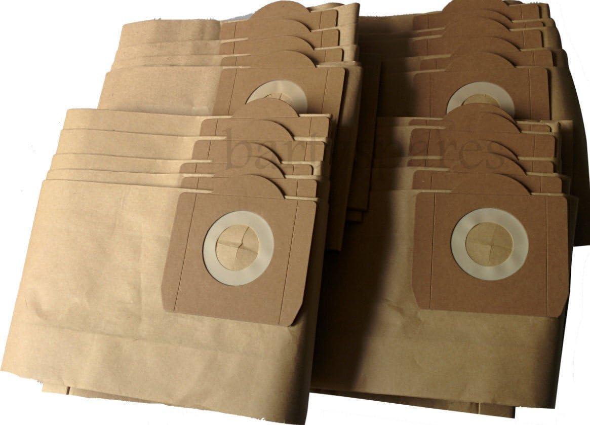 Bartyspares® 20 bolsas de aspiradora resistentes para aspiradora ...