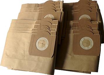 20 x  Strong Dust hoover DUST BAGS for TITAN 16L 20L 30L 40L  Vacuum Cleaner