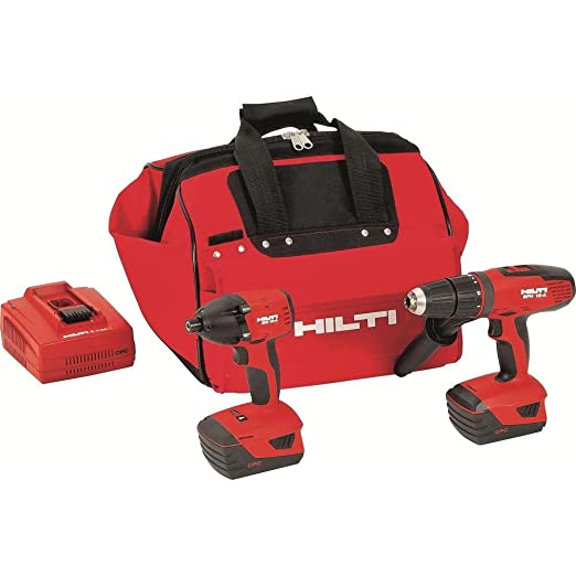 Amazon.com: HILTI martillo perforador inalámbrico 3487016 ...