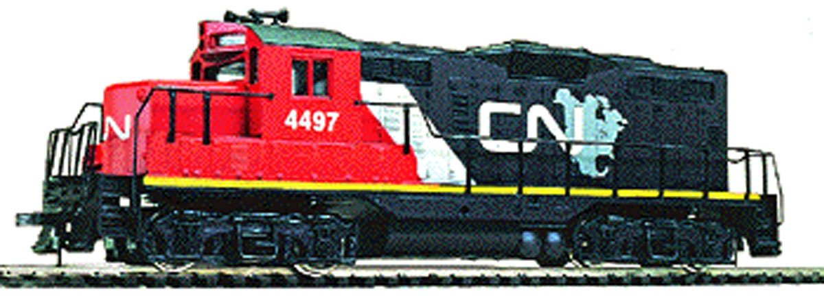 Walthers Trainline EMD HO Scale GP9M Ready-to-Run Canadian National