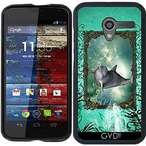 Funda para Motorola Moto X (Generation 1) - Delfín Divertido by nicky2342