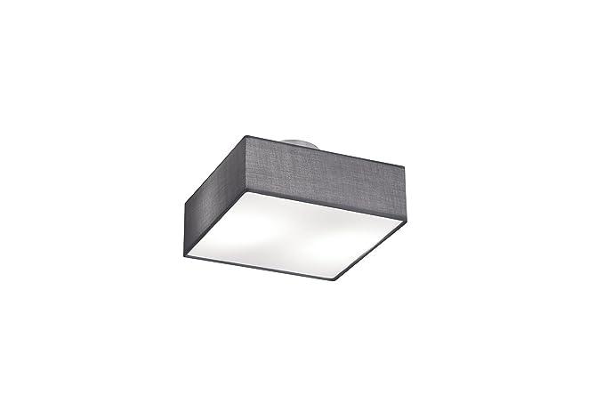 Plafoniera Led Quadrata 30x30 : Trio  lampada a led quadrata ip e w v
