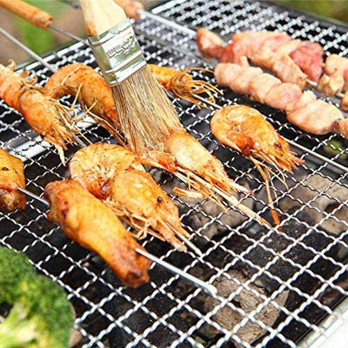 KEWEI Barbecue à charbon réglable en acier inoxydable pour fêtes de jardin et grandes familles