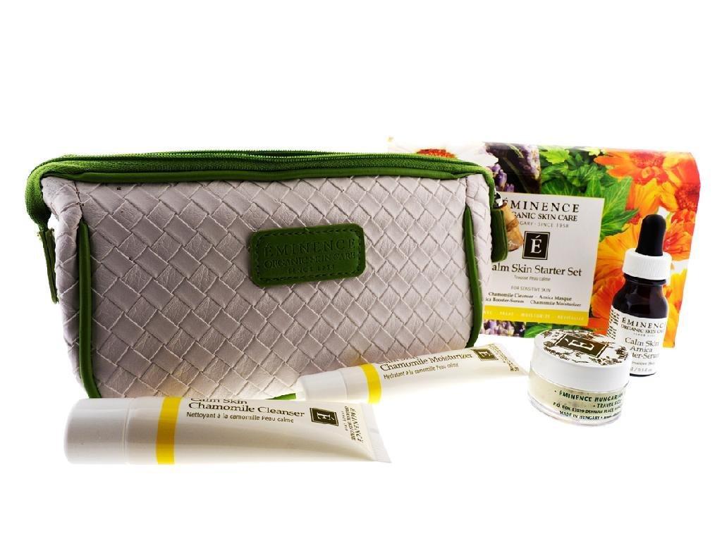 Eminence Organic SkinCare Calm skin starter set, 1 Count Emininence