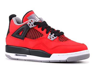 buy online 3b52e 7ae17 Image Unavailable. Image not available for. Color  NIKE Boys Air Jordan 4  Retro (GS) Toro ...
