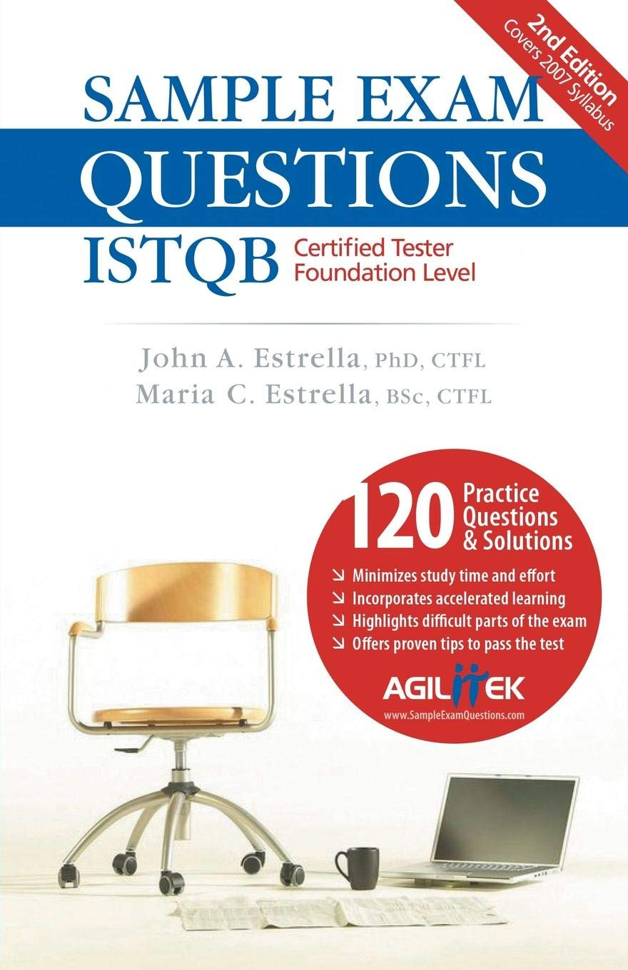 Sample Exam Questions Istqb Certified Tester Foundation Level