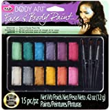 Tulip 32389 Body Art Body Paint Kit, Shimmer