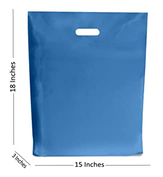 Bolsas de plástico de color azul royal para regalo, tamaño ...