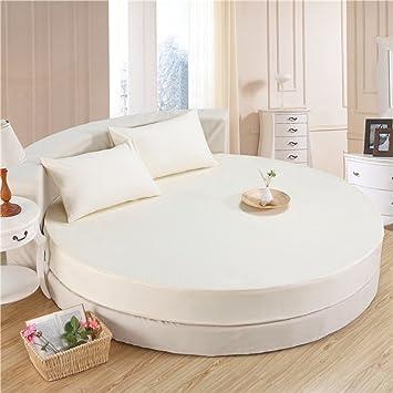 couvre lit pour lit rond Lit rond en coton complet/couvre lit simple/housse de protection  couvre lit pour lit rond