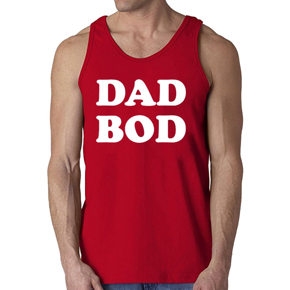 696ef7086 Men's Dad BOD Funny Father's Gift Tank Top: Amazon.ca: Clothing &  Accessories