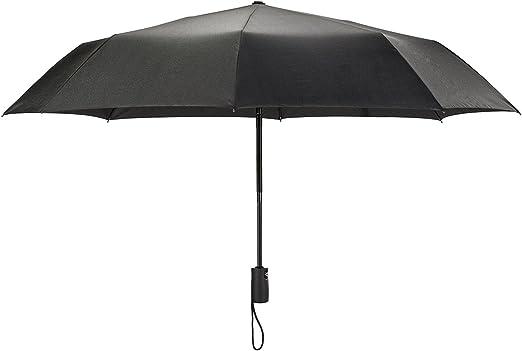 Automatique Parapluie Coupe-vent Hommes noir compact largeur Auto Open Fermer Léger