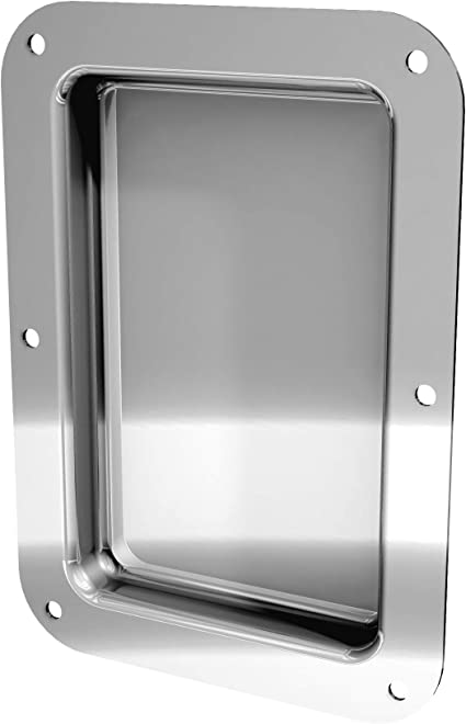 Large Zinc 2 Hole Jack Plate for Speaker Cabinets and Amplifiers
