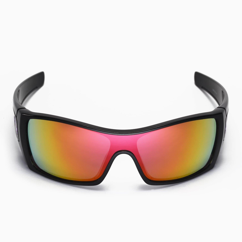 Walleva - Gafas de sol polarizadas para Oakley Batwolf, color rojo y azul hielo: Amazon.es: Ropa y accesorios