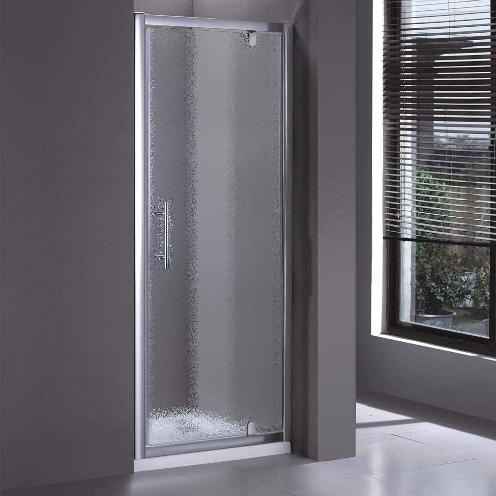 Mampara de ducha Nice Line con una sola puerta abatible con cierre ...