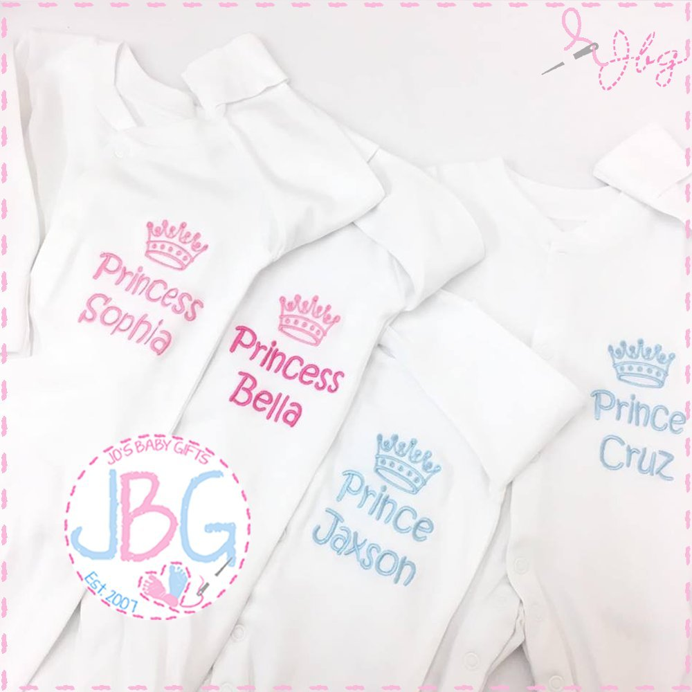 Princess Personalised Babygrow