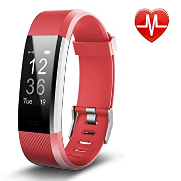 Pulsera Actividad Pulsera Inteligente con GPS, IP67 Impermeable Pulsera Móvil Monitor de Ritmo Cardíaco,