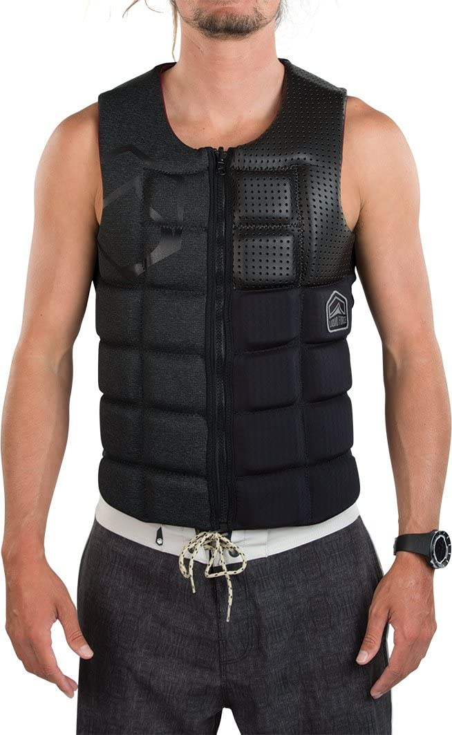 Liquid Force 2018 Flex (ブラックアウト) Comp Vest 遮光 Large