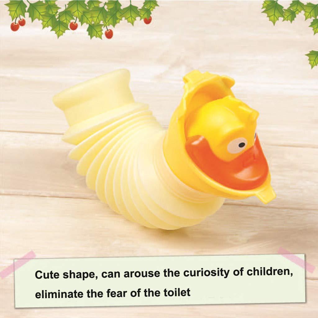 Cartoon Toy Kids Urinal Bucket Pee Training Cup Dirance Camping Travel Portable Pee Bottle Green