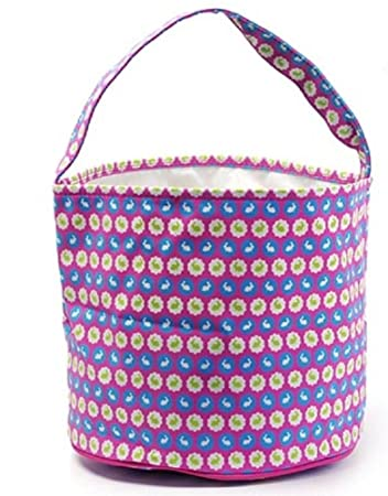 Amazon easter egg hunt basket bag childs reusable bucket easter egg hunt basket bag childs reusable bucket baskets kids party gift bags negle Choice Image