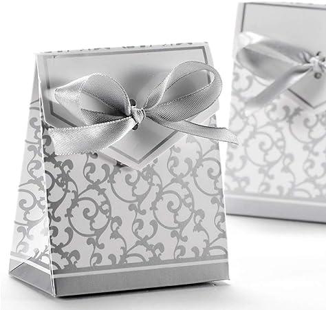 Super Anyasen 50 pezzi scatoline bomboniere Scatole Portaconfetti WG29