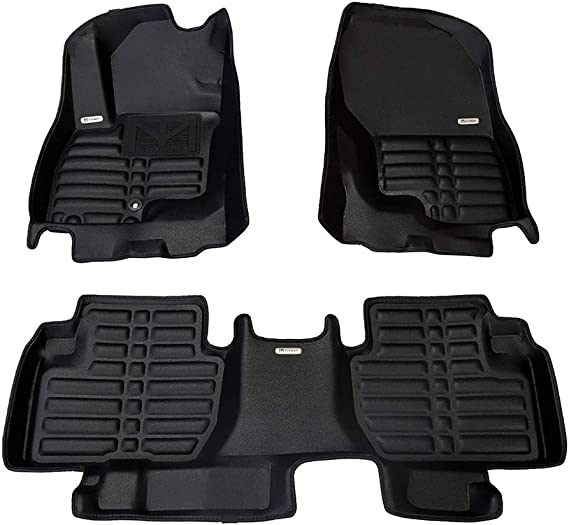 TuxMat Custom Car Floor Mats for Mitsubishi Outlander PHEV 2014-2020 Models - Laser Measured